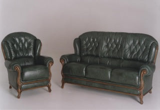 Italian Leather Helen Suite