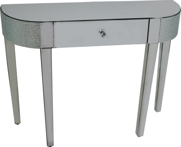 Chic Mirror Console Table