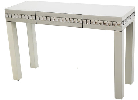 Crystal White Console