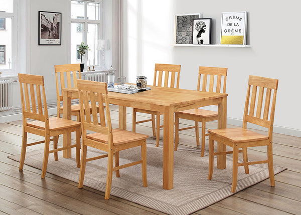 Milton 5ft Set 6 Chairs & Casey Table