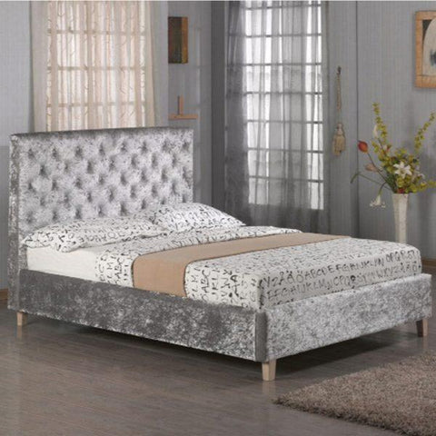 Virgo Bed Frame & Mattress Set