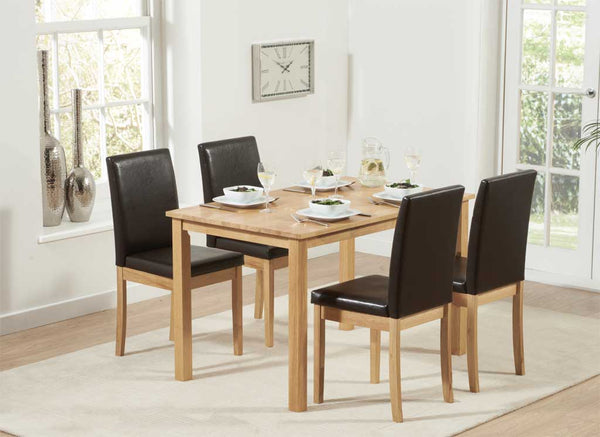 Granada set with 4 chairs