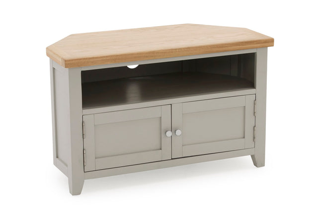Chambery Oak TV Unit Corner
