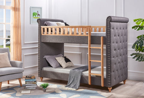 Elsa Fabric Bunk Bed