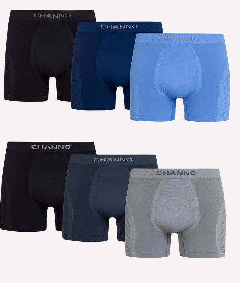 Calzoncillos Deportivos de Lycra Maximum Performance Channo Active Series (pack de 6)