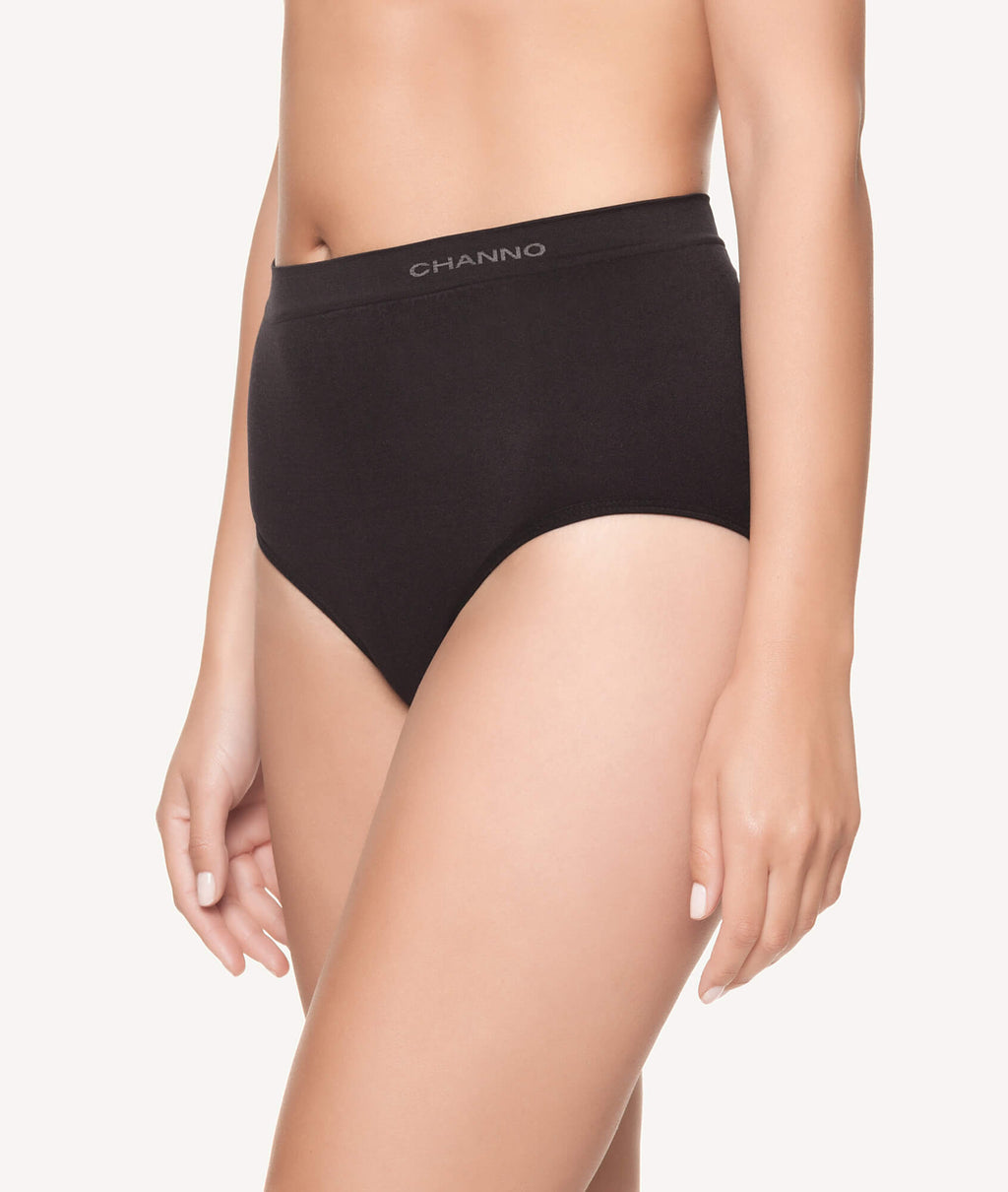 Braga alta licra invisible sin costuras lateral - CHANNO Woman
