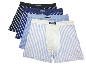 Calzoncillos boxer algodón rayas verticales Pack1 completo - CHANNO Man