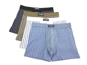 Calzoncillos boxer algodón rayas verticales Pack2 completo - CHANNO Man