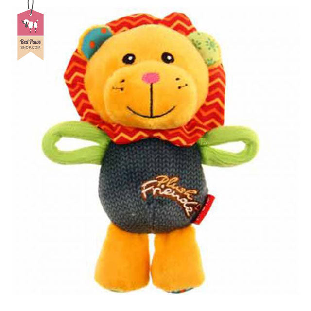 GiGiwi Lion Friendz Plush Dog Toy
