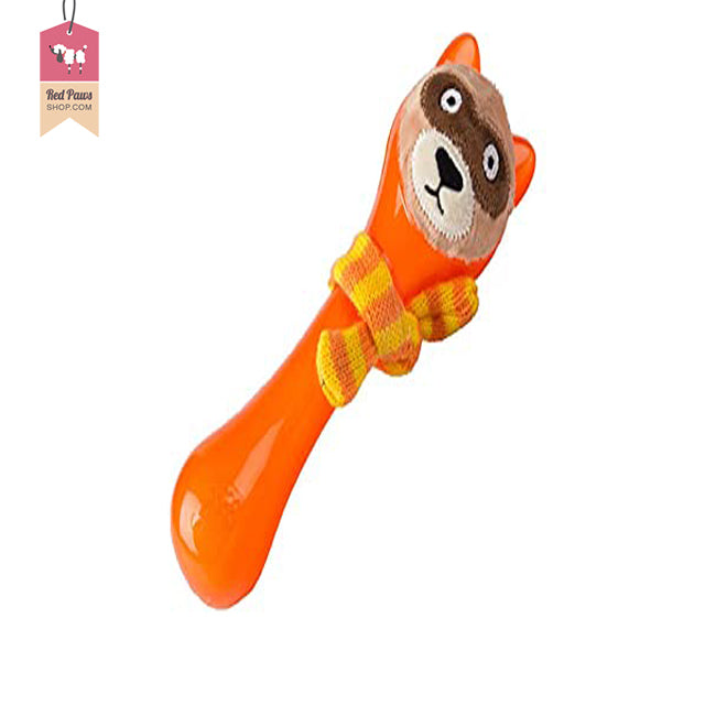 GiGwi Plush Friendz Dog Toy - Coon Orange