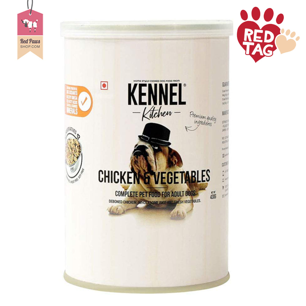Donate Kennel Kitchen Can Wet Food - 430 Gms - (Pack of 4)
