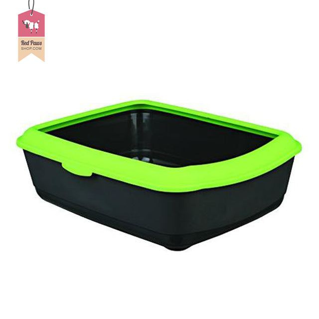 Trixie Classic Cat Litter Tray With Rim - Green