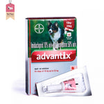 Advantix Spot On Treatment For Ticks - 10 kg to 25 kg