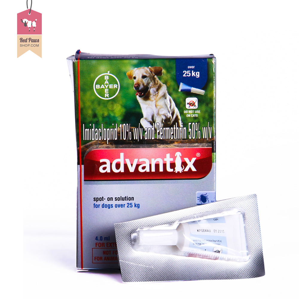 Advantix Spot On Treatment For Ticks - 25 kg & Above