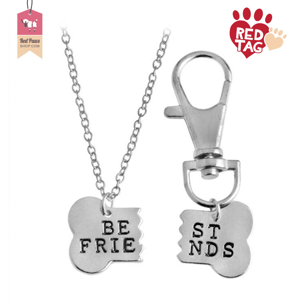 Best Friends Necklace and Pet Charm