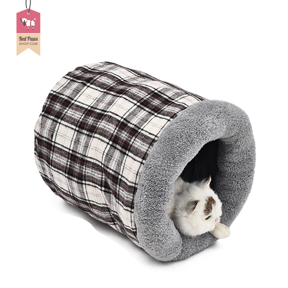 Red Paws Cat Bed