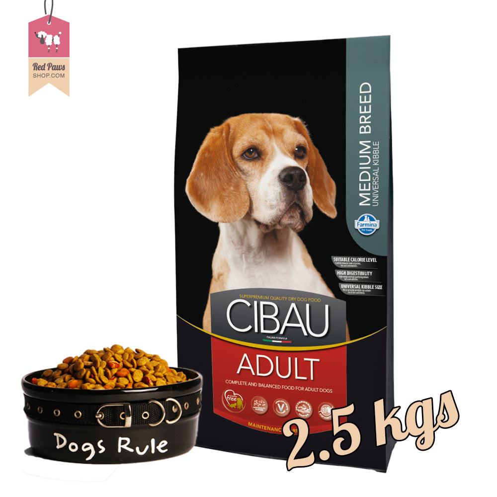 Cibau Adult Medium 2.5 kgs
