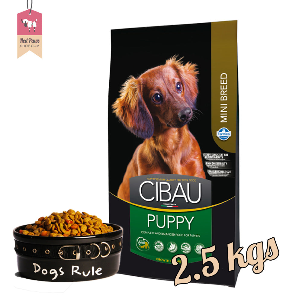 Cibau Puppy Mini 2.5 kgs