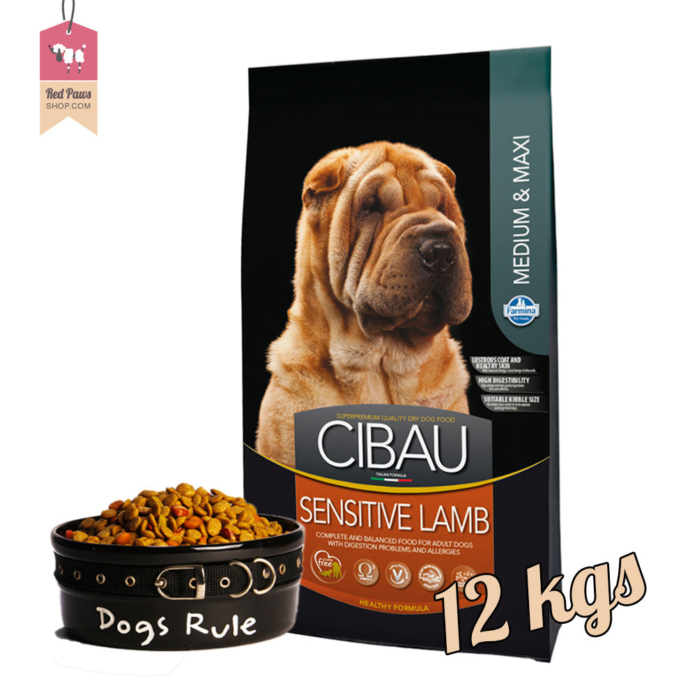 Cibau Sensitive Lamb -  Medium & Maxi 12 kgs