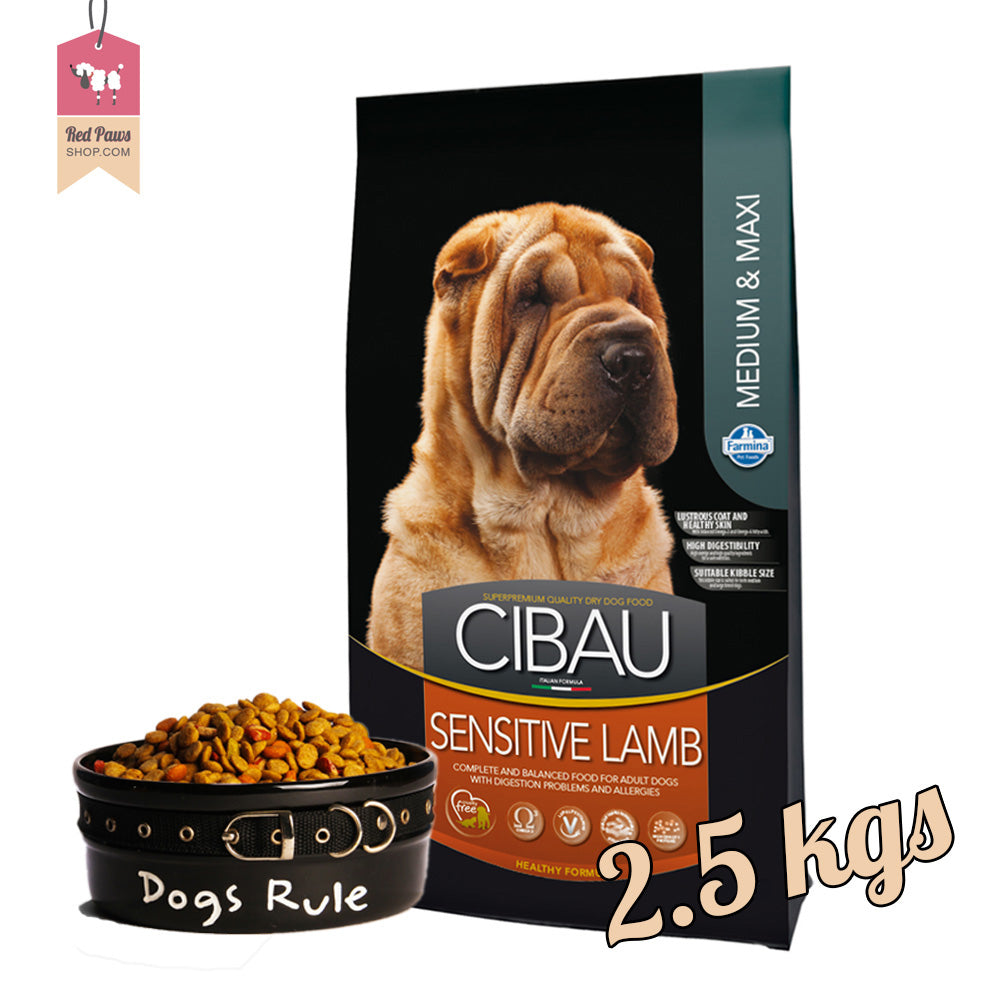 Cibau Sensitive Lamb -  Medium & Maxi 2.5 kgs