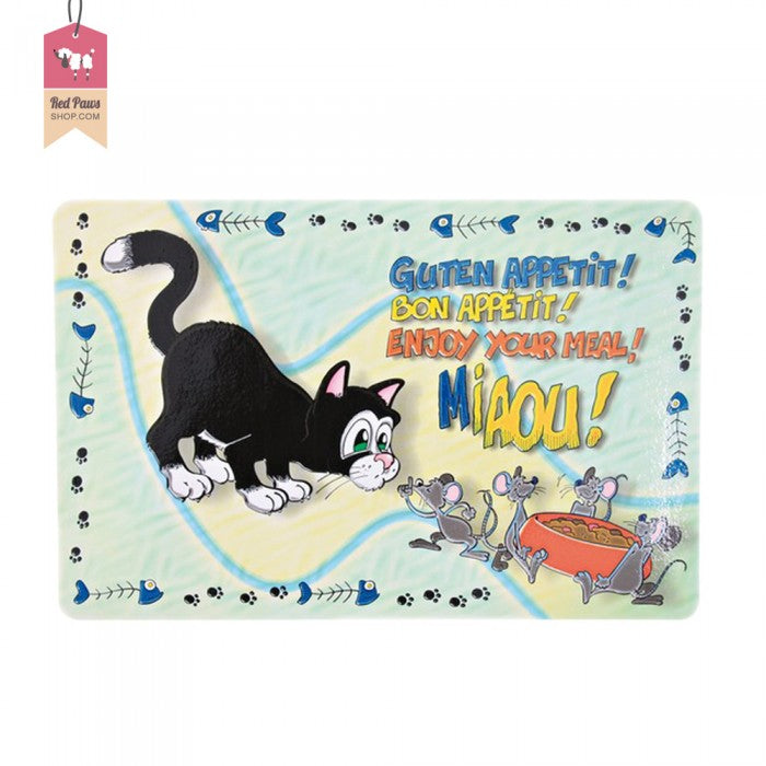 Enjoy Your Meal Cat Dining Mat