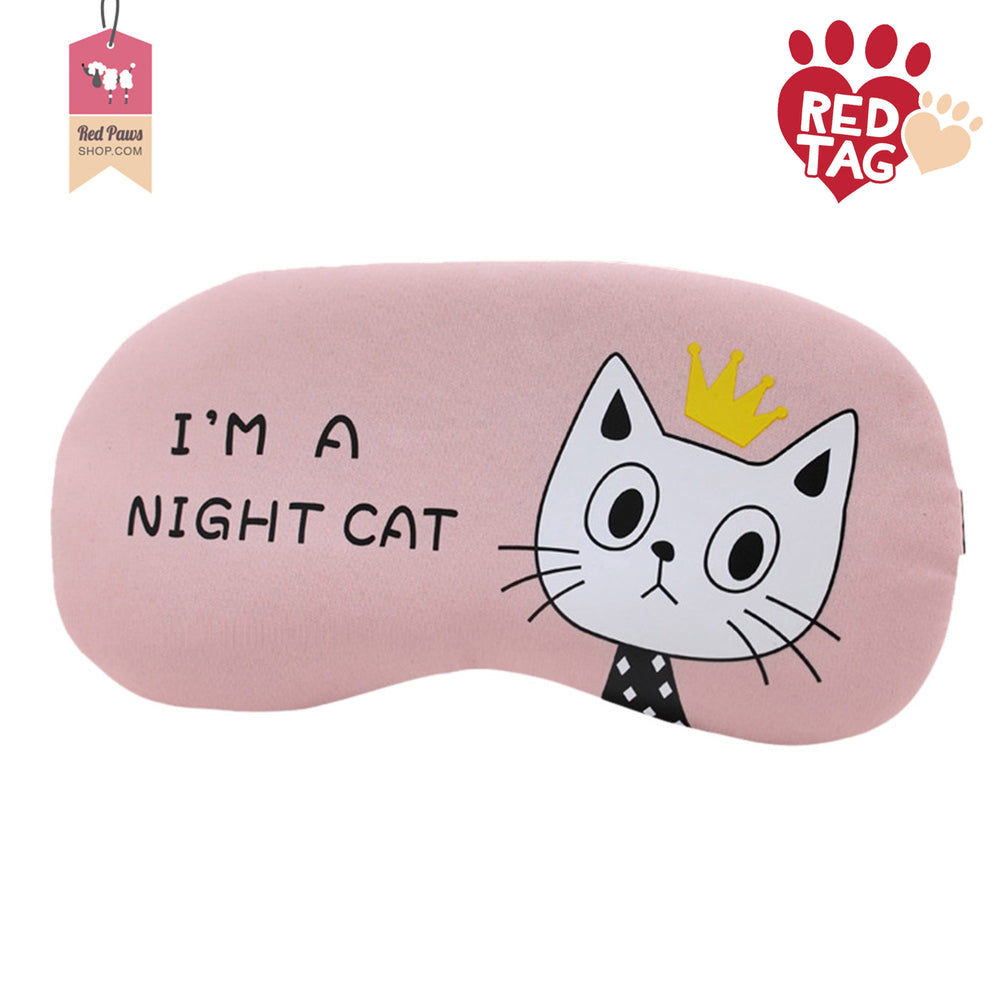 Cute Cat Travel Eye Mask