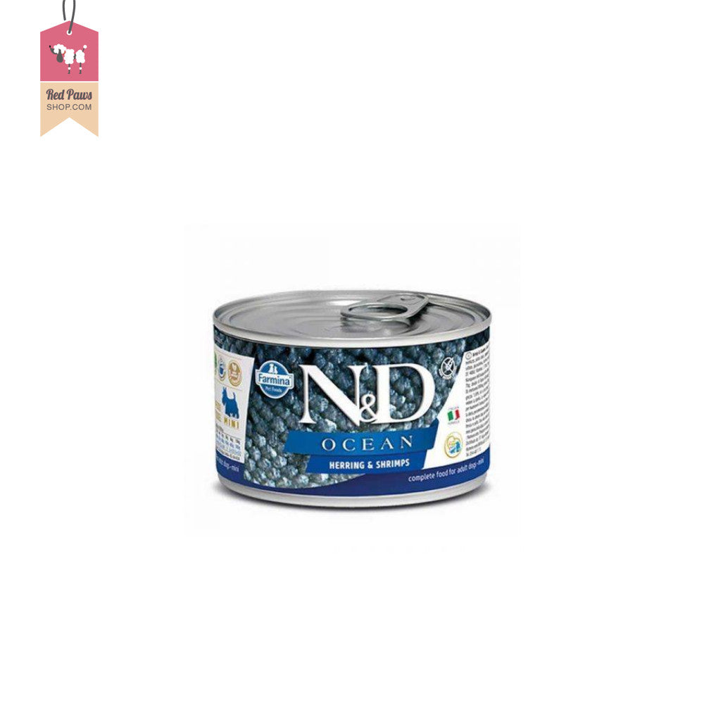 N&D Ocean Wet Dog Food Herring & Shrimps - Adult Mini