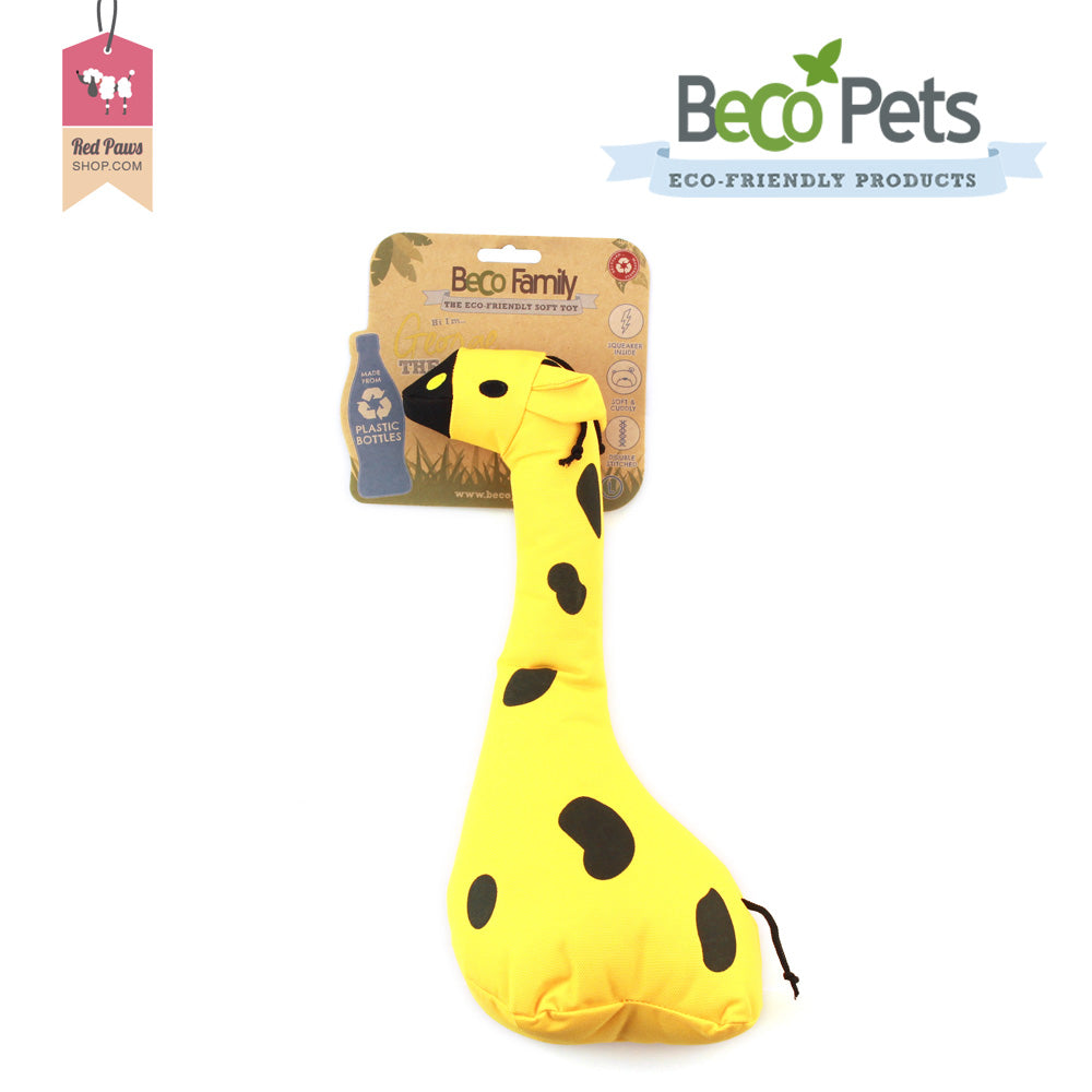 Beco Pets Family - George The Giraffe Dog Toy