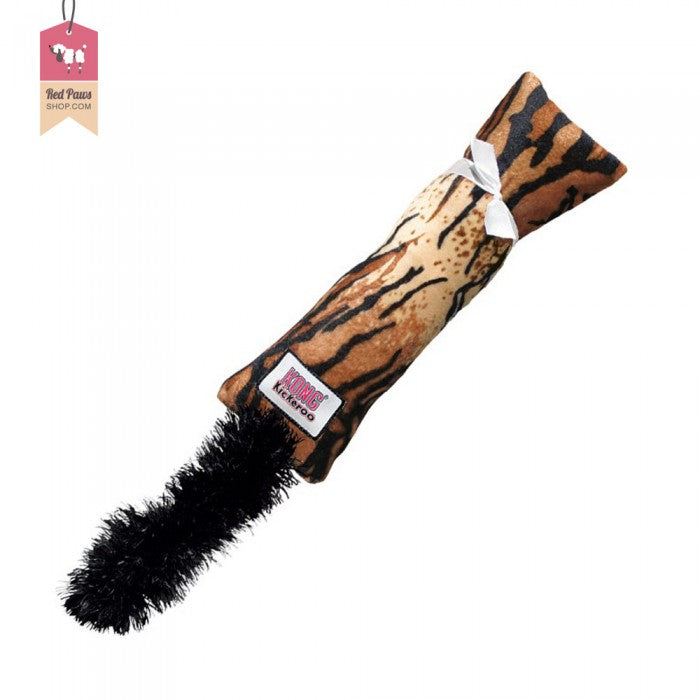 Kong Kickeroo Tiger Print Cat Toy