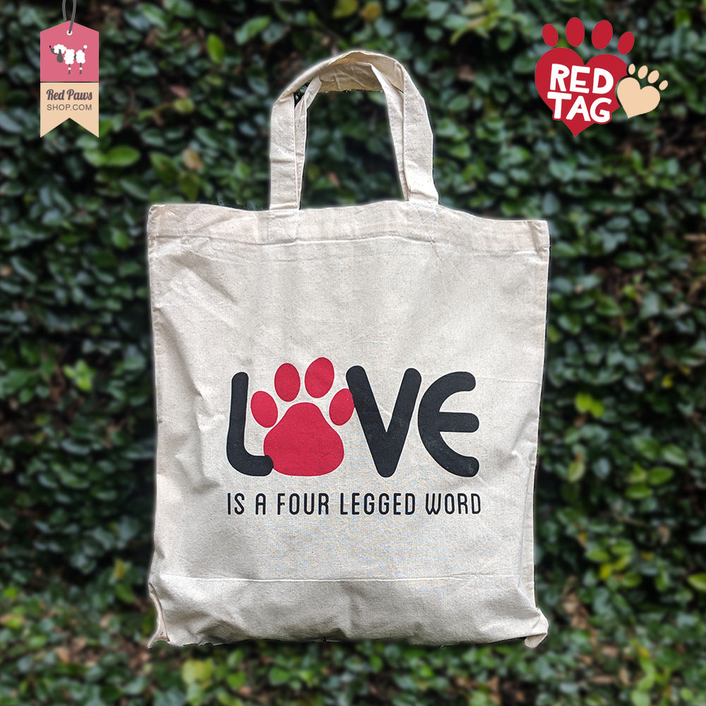 Love Cotton Tote Bag