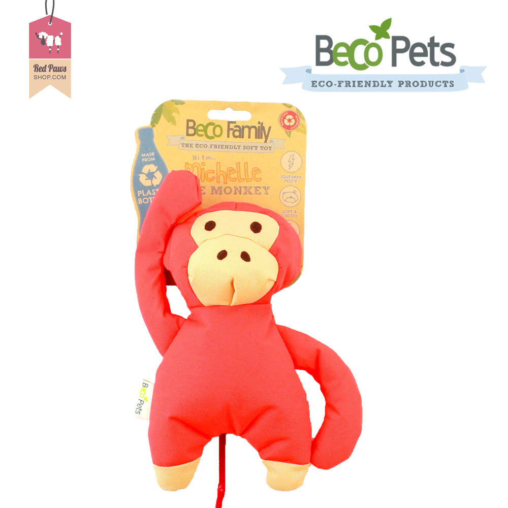 Beco Pets Family - Michelle The Monkey Dog Toy