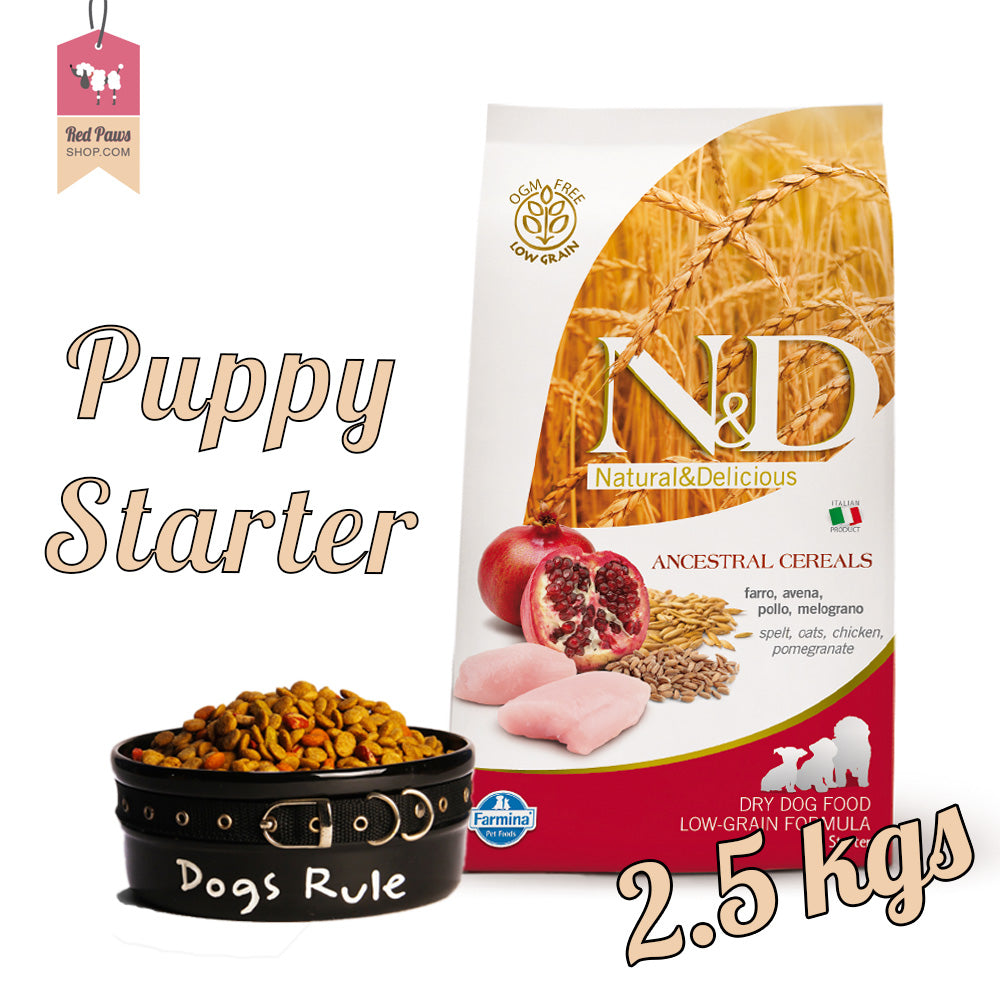 N & D Chicken & Pomegranate Puppy Starter 2.5 kgs