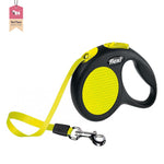 Flexi Neon Safety Plus Leash