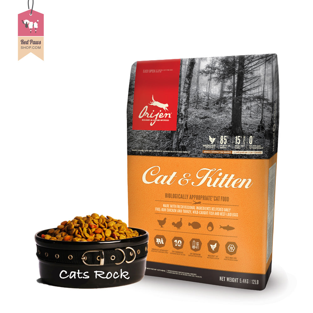 Orijen cat & kitten food - 5.4 kgs
