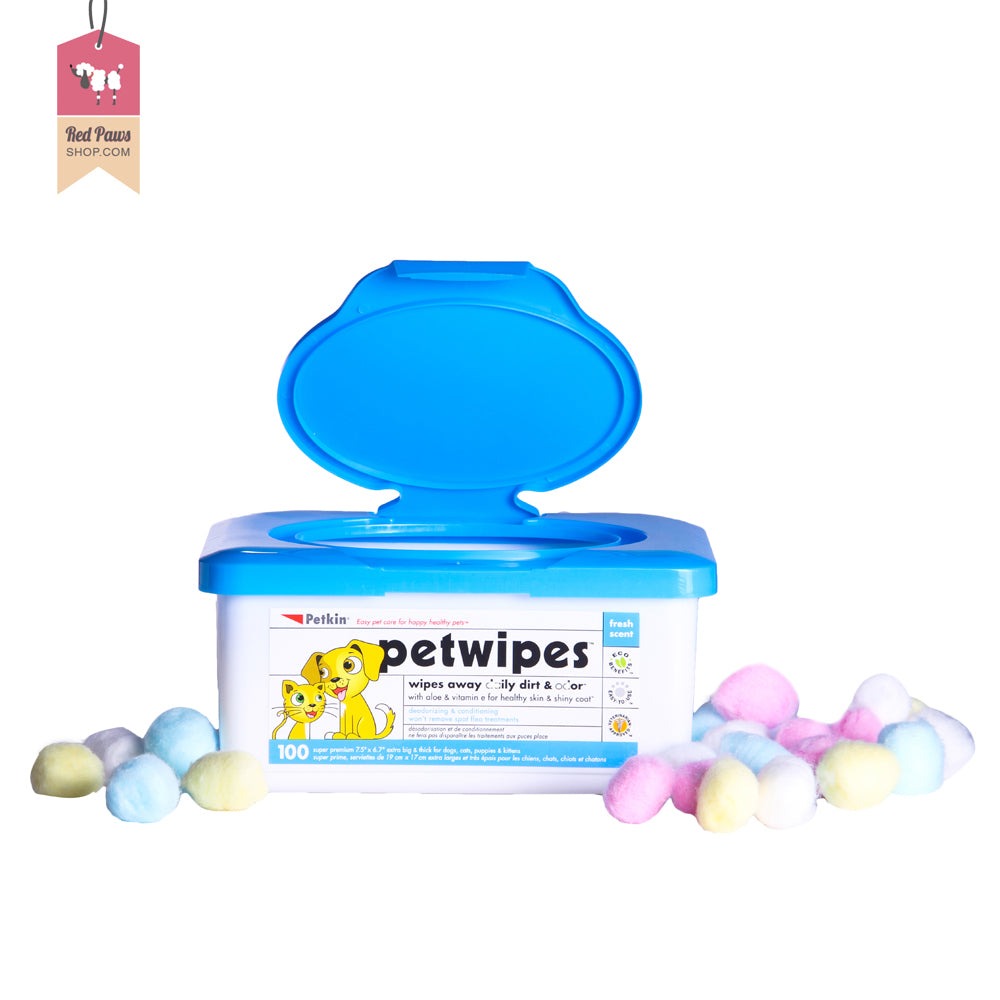 Petkin Dog & Cat Wipes