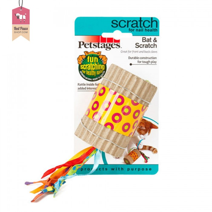 Petstages Bat & Scratch For Cat Toy