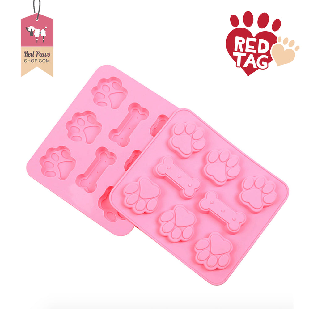 Paw Bone Silicon Multifunctional Tray