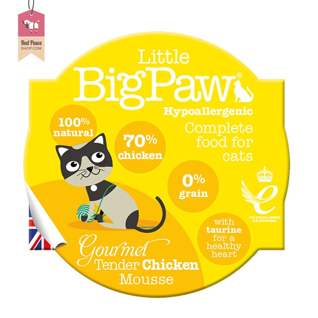 Big Little Paw - Tender Chicken Cat Food – 85 Gms