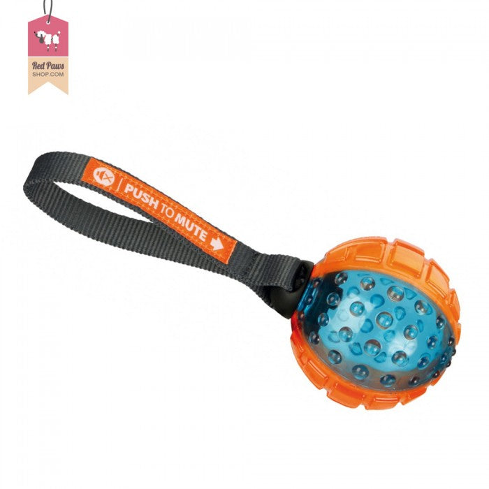 Trixie Push To Mute Ball Dog Toy