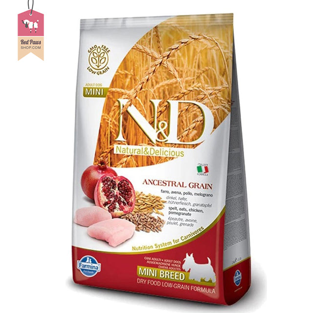 N & D Chicken & Pomegranate Adult Mini 7 kgs