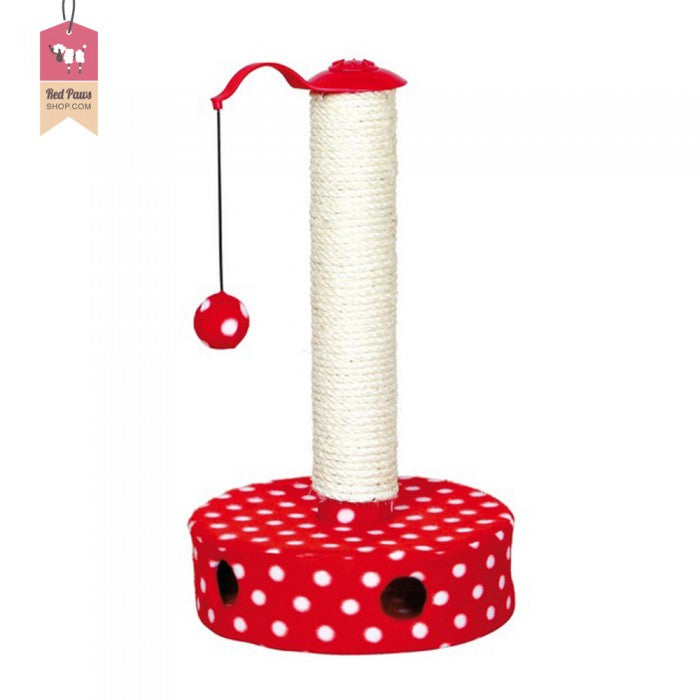 Trixie Polka Dotted Cat Scratcher