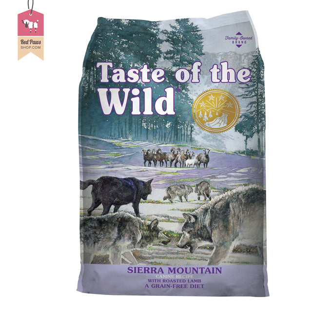 Taste Of The Wild Sierra Mountain Adult Dog Food – 2 Kgs