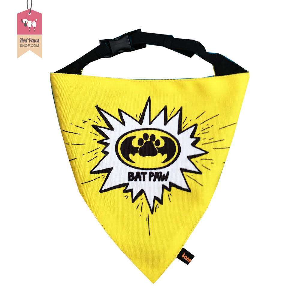 Lana Paws Bat Paw Super Dog & Cat Bandana