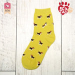 Yellow Pop Socks