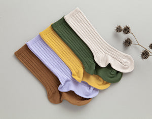 Fall Ribbed Knee Socks Bundle