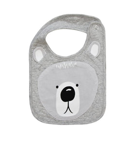 Bear Face Bib