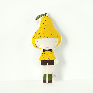 Pear Softie Doll