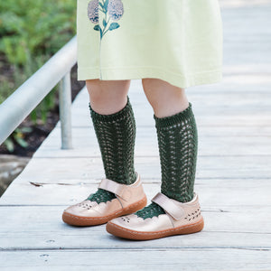 Crochet Folklore Knee Socks, Amazonia