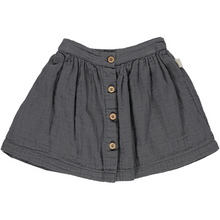 Organic Cotton Skirt, Iron Gate