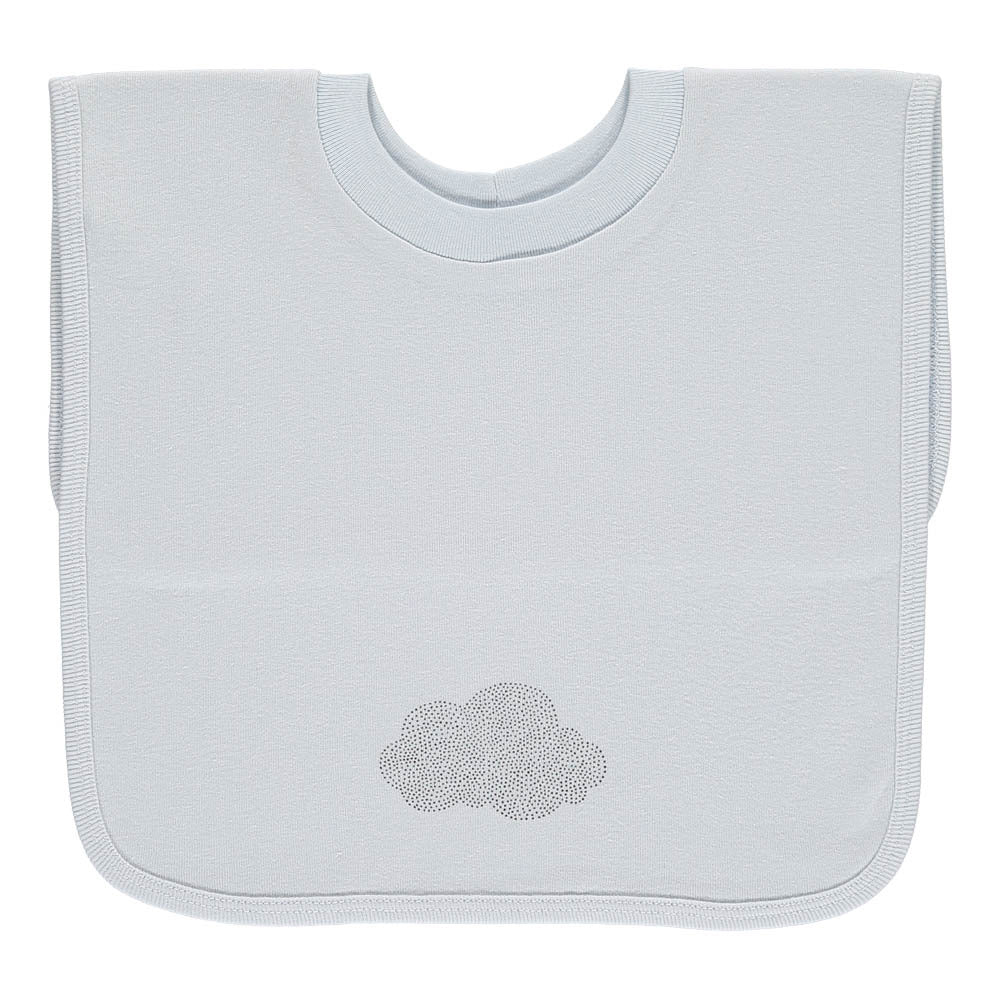 Slip-On Bib, Green Cloud
